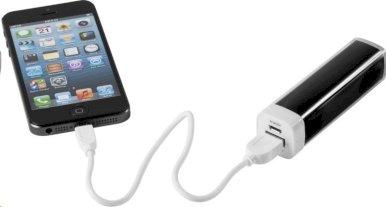 Powerbank za smartphone, 2200mAh, crni