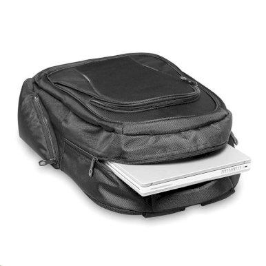 """Ruksak  za 15"""" laptop, s više pretinaca i dodatkom za bocu crni"""