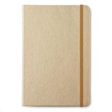 Rokovnik A5 s  linijama, 96 stranica, zlatni