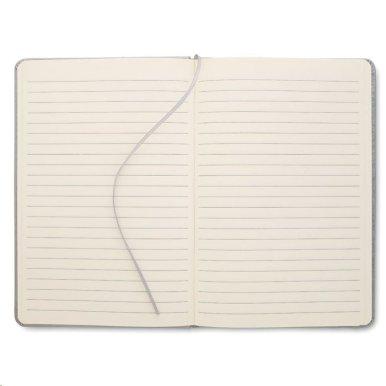 Rokovnik A5 s  linijama, 96 stranica, srebrni