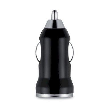 Punjač za auto, USB, crni