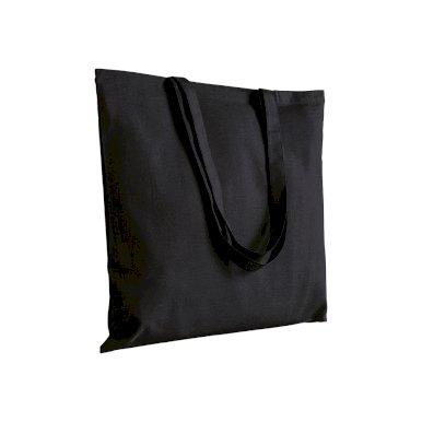 Torba za kupovinu, duge ručke, 135 gr,  crna