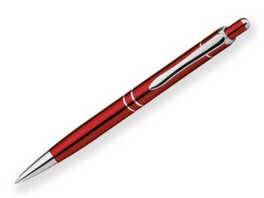 Kem. olovka, Gruso, metalna, crvena