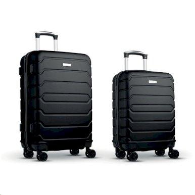 Set kofera na kotačiće, MINSK ,crni