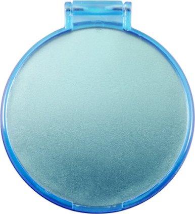 Ogledalo, jednostruko, džepno, svijetlo plavo