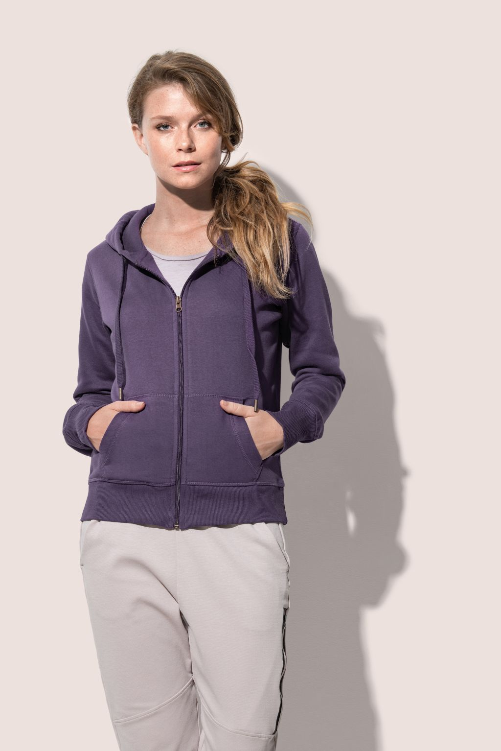 Pulover, DR, Active Sweatjacket Women, 270 gr