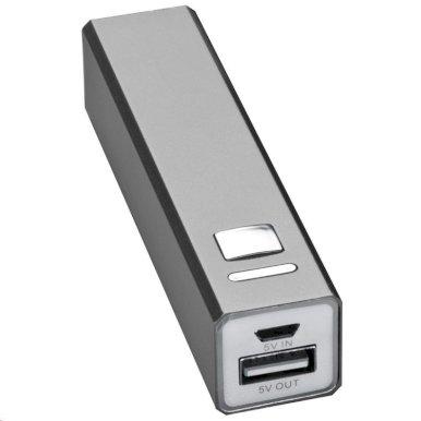 Powerbank za smartphone, srebrni, 2200mAh