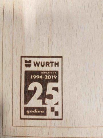 Daska za rezanje, drvena , pravokutna 23*32 cm, bez gravure