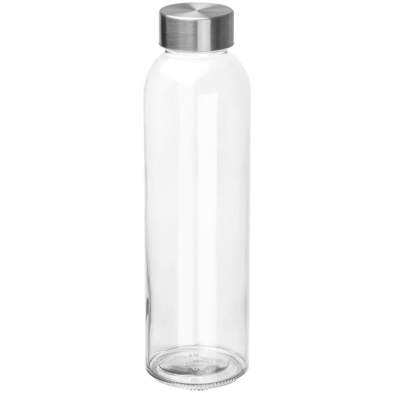Boca za vodu, staklena, 500ml, prozirna