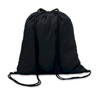 Vrećica za papuče, pamučna, crna