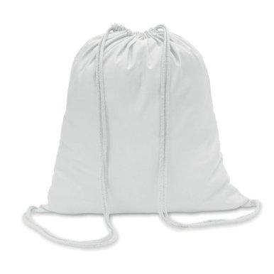 Vrećica za papuče, pamučna, bijela
