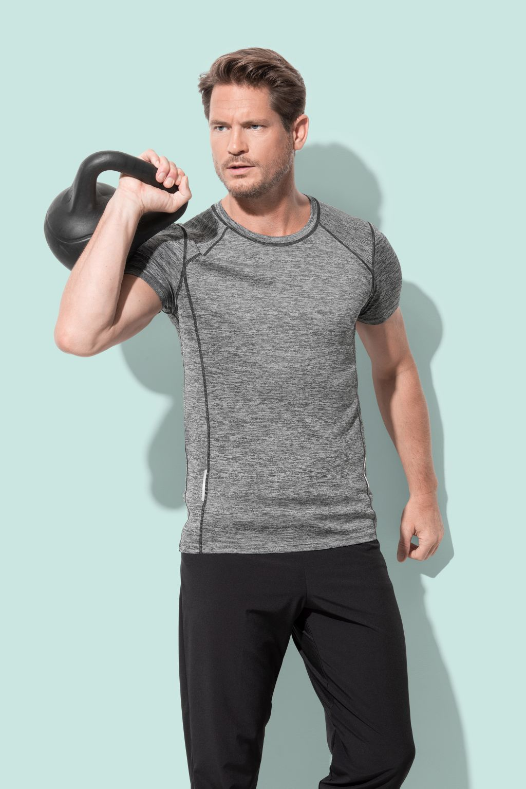 Majica, KR, Recycled Reflect Active Sports-T, Active-DRI, 190 g, L