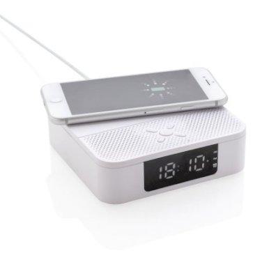 Bežični punjač sa satom i alarmom