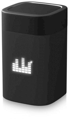 Zvučnik, Bluetooth, svijetlećim logim, 800mAh, crni