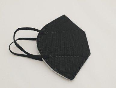 Zaštitna respiratorna maska  KN95, FFP2 razina zaštite, crna