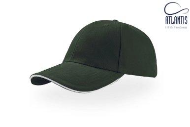 Kapa, Compact Sandwich, brušeni pamuk, tamno zelena