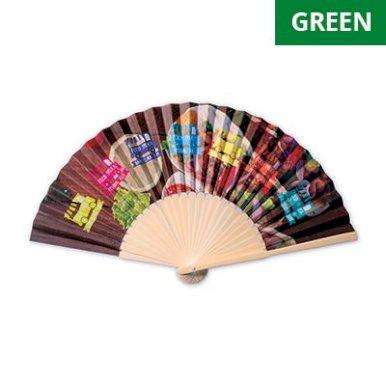 Lepeza, bambus, full colour tisak min. nar. 500 kom