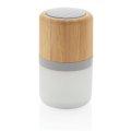 Zvučnik bežični,  bambus, 3W, svijetlo mijenja boje