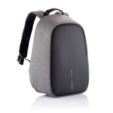 Ruksak Bobby Hero Small s pretincem za laptop, zaštita protiv krađe, sivi