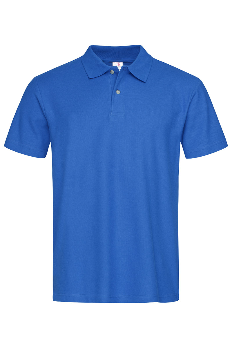 Majica, KR, Stedman Polo 65/35, bright royal, 180 gr, XXXL