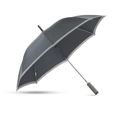 Kišobran, automatic u futroli, 8 panela, spužvasta drška, crni