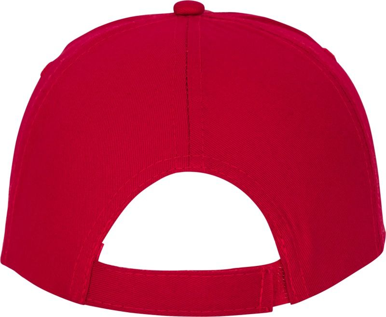 Kapa, Feniks, pamučna, 5 panela, crvena