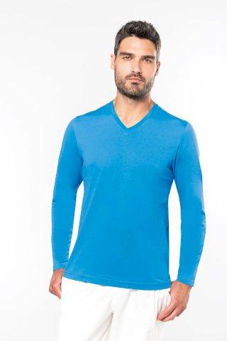 Majica, muška DR,V-izrez 180 g, muška, navy, L