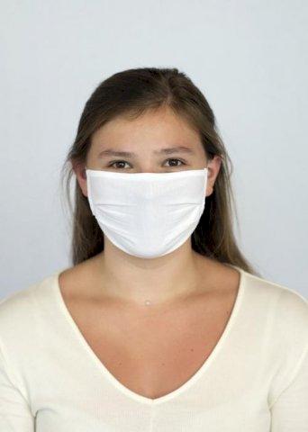 Maska za lice, jednoslojna,  organski pamuk,150g/m2