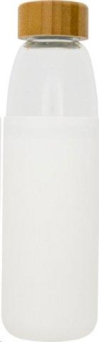 Boca, staklena, sa silkonskom navlakom, 540ml, crna
