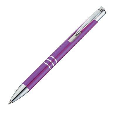 Kemijska olovka, metalna, ljubičasta