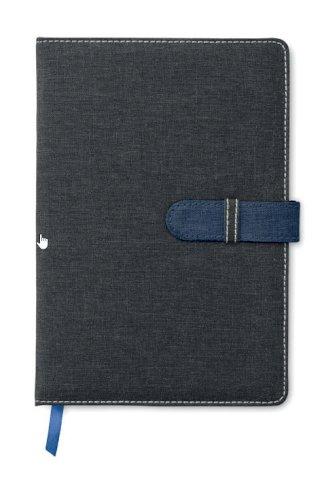 Rokovnik A5 s  linijama, 80 stranica, plavi