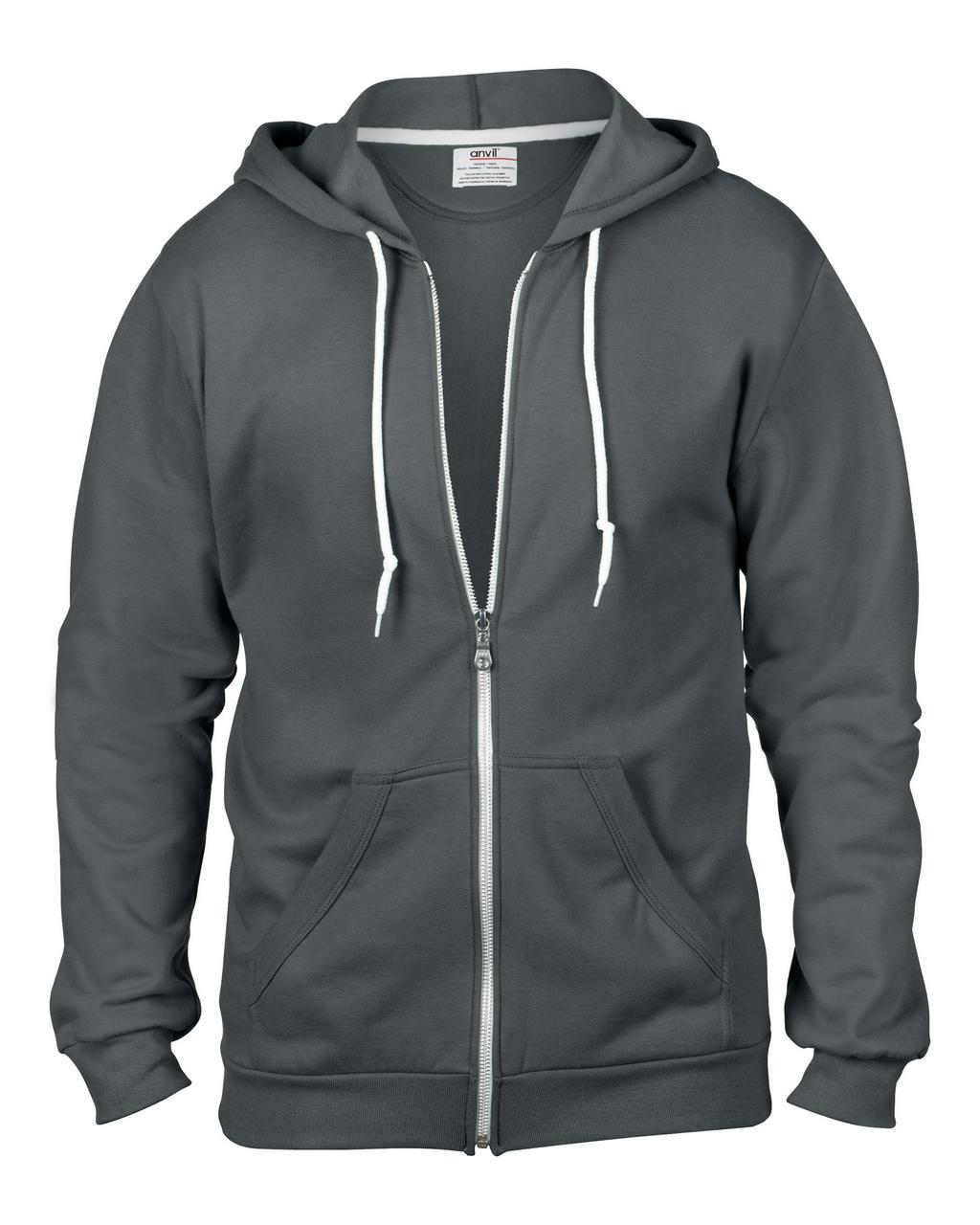 Majica, DR, Anvil Hooded, Charcoal , XL