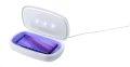 UV-C kutijica za sterilizaciju, s bežičnim punjačem 5W, bijela