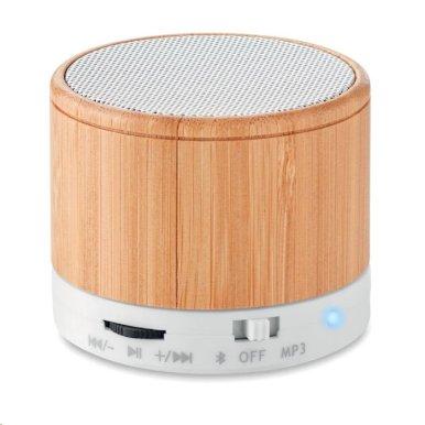 Bluetooth zvučnik, bambus 3W