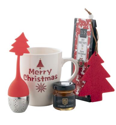 Salla, poklon set - šalica, čaj, med