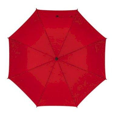 Golf kišobran sa spuvastom ručkom, crveni
