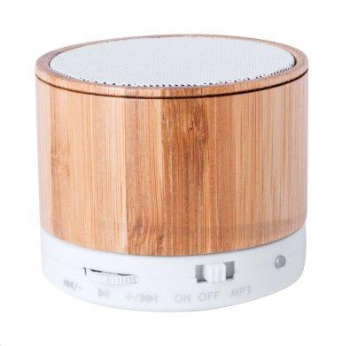 Bluetooth zvučnik, bambus, 3W