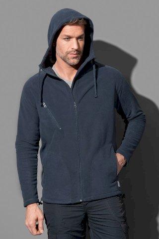 Jakna, Active hooded Fleece, 220 gr