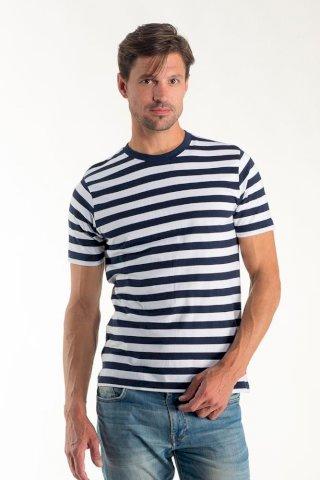 Majica, KR, Euro wear muška, mornarska 100 % pamuk , biowash