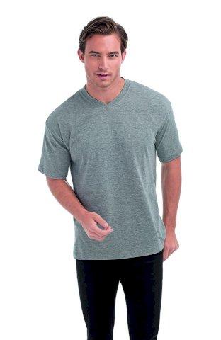 Majica, KR, Vee-T, grey heather, 160 gr, S