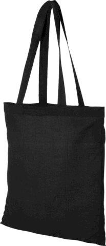 Torba za kupovinu, duge ručke, 180 gr, crna, 38 x 42 cm