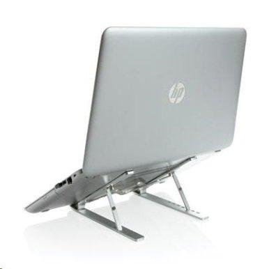 Držač za laptop ili tablet,  univerzalni, sklopivi , srebrni