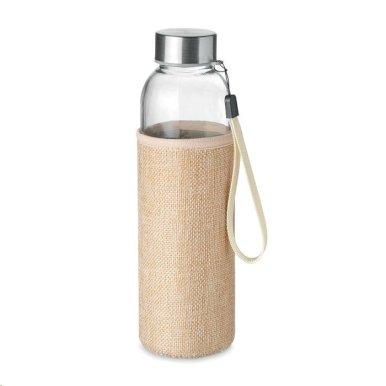 Boca za vodu Utah touch, 500 ml, u jutenoj vrećici, bež