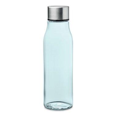 Boca za vodu staklena, VENICE,500 ml, plava
