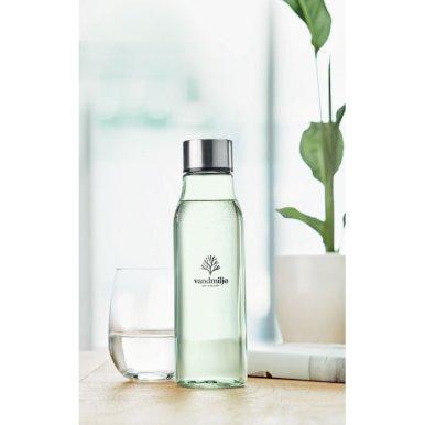 Boca za vodu staklena, VENICE,500 ml, zelena
