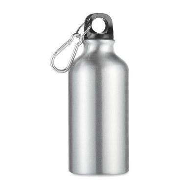 Boca, aluminijska, MID MOSS, s karabinom, 400 ml,